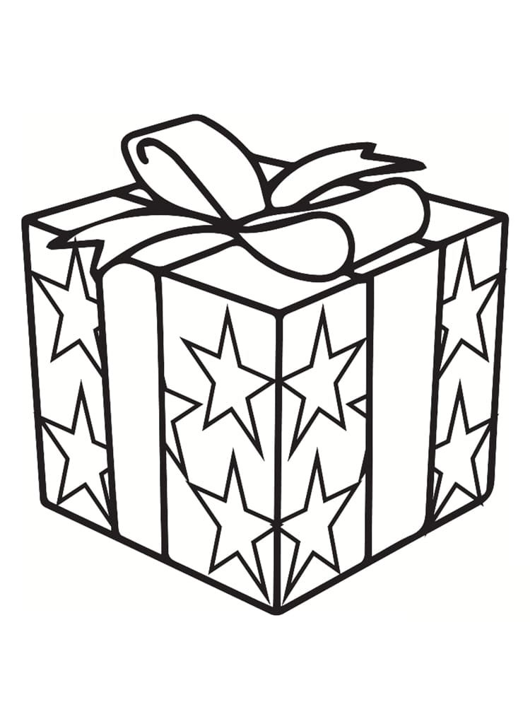 Coloriage Cadeaux Coloriage cadeau : 30 modèles à imprimer gratuitement