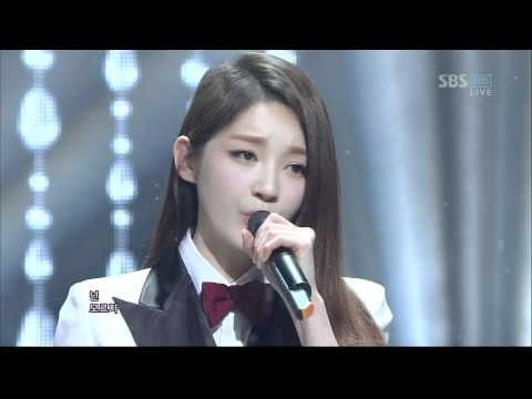 T-ara ft. Davichi - We Were In Love (120108 SBS Inkigayo)
