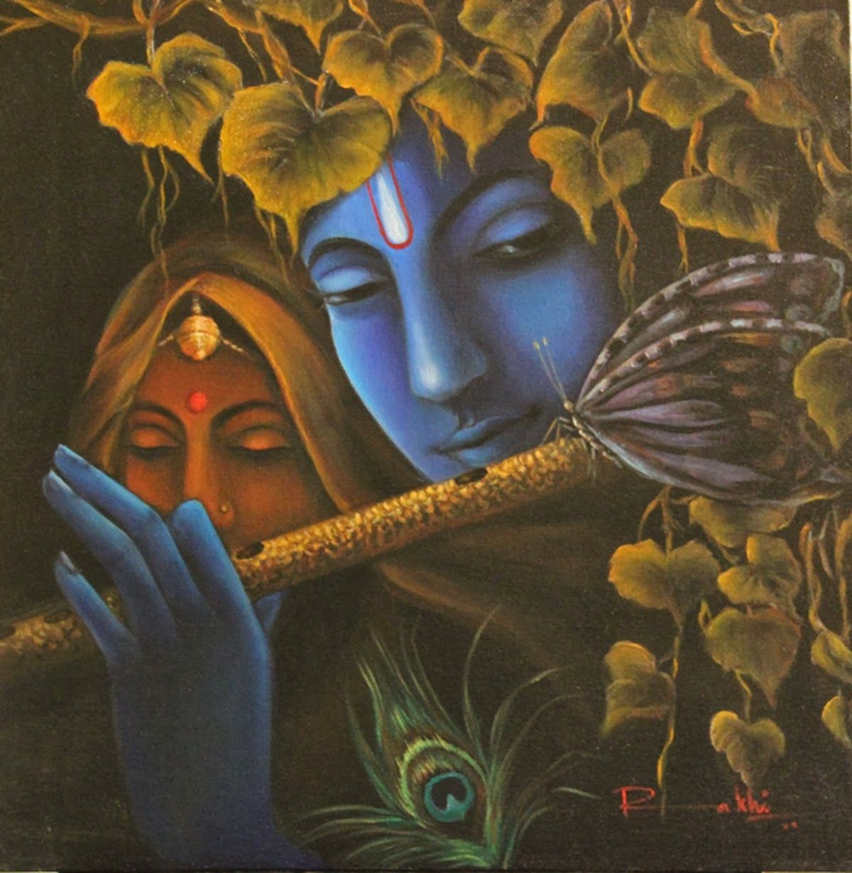 Pin by HD Wallpapers on Hd Wallpapers | Radha krishna ...