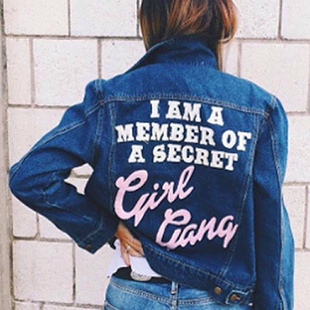 Calça Moletom Feminina Girl Gang