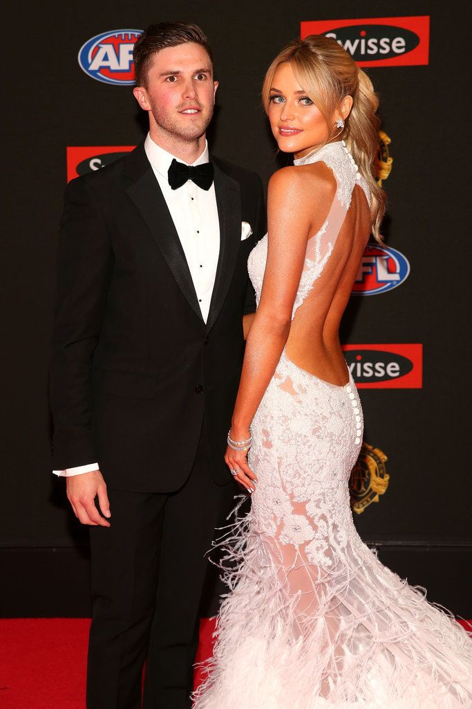 Red Carpet Ready! Rachael Finch and AFL WAGs Hit the Brownlow Medal ...
