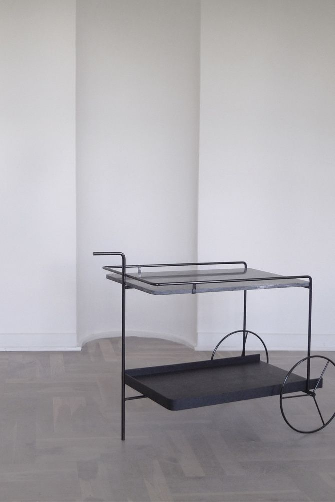 La Boum Is A Minimalist Design Created By Copenhagen Based Designer Theresa  Arnsfor Menu. The Inspiration For The Bar Trolley Is Coming From The  Classic Bar ...