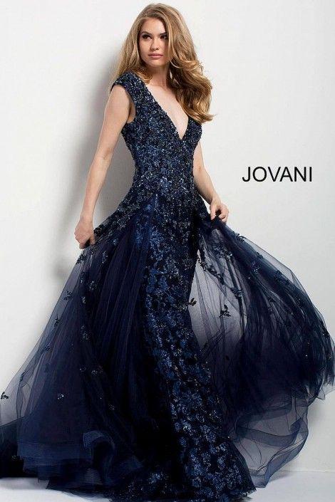 Fully Beaded Prom Dresses 2018