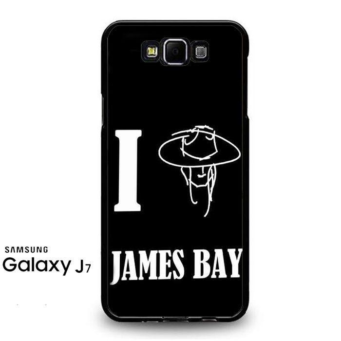 James Bay I Love Samsung Galaxy J7 Prime Case