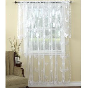 Butterfly Lace Curtain Collection Lace Curtains Bed Sheet Curtains Curtains
