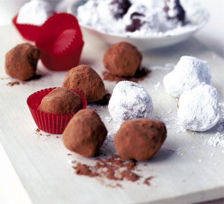 Chocolate Tia Maria nuggets | Recipe | Confectionary ...