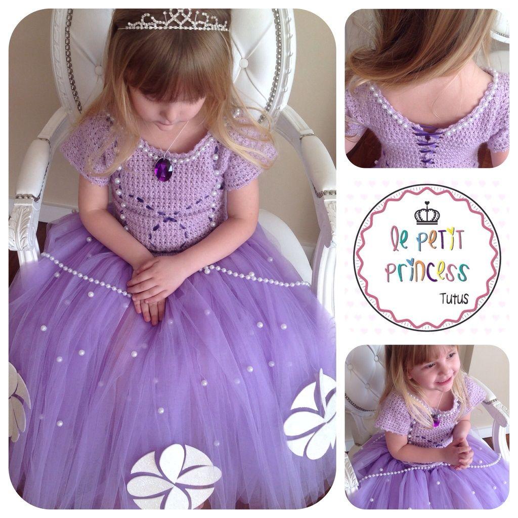 Vestido Disfraz Sofía Comprar En Princess Tutu Vestido
