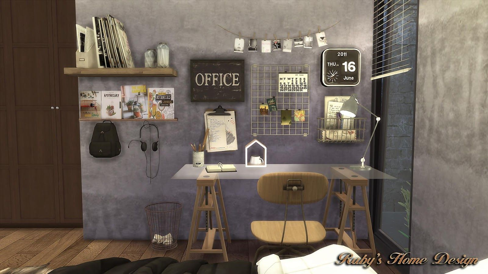 Sims4 deli amp grocery store ruby s home design - Sims4 Mid Century Industrial Loft Ruby S Home Design