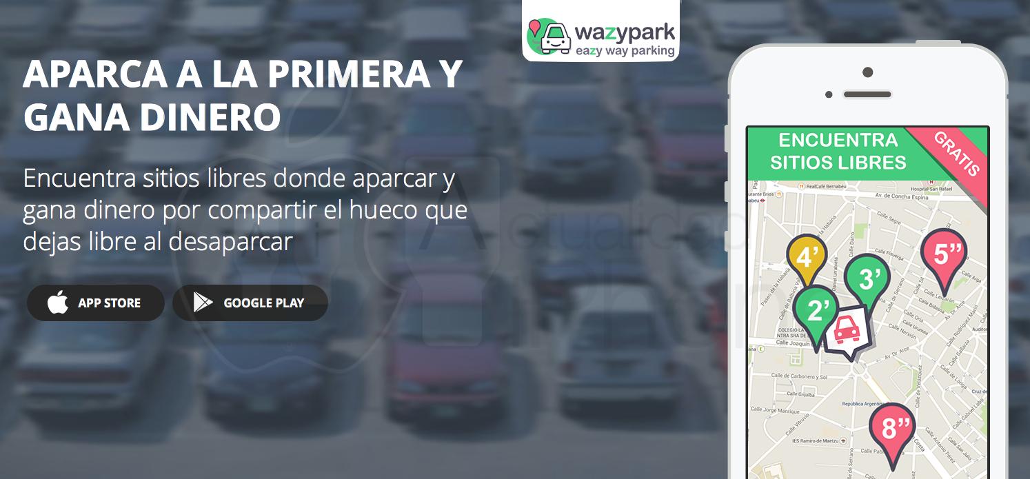 Wazypark: gana premios mientras consigues aparcar - http://www.actualidadiphone.com/wazypark-eazy-way-parking/