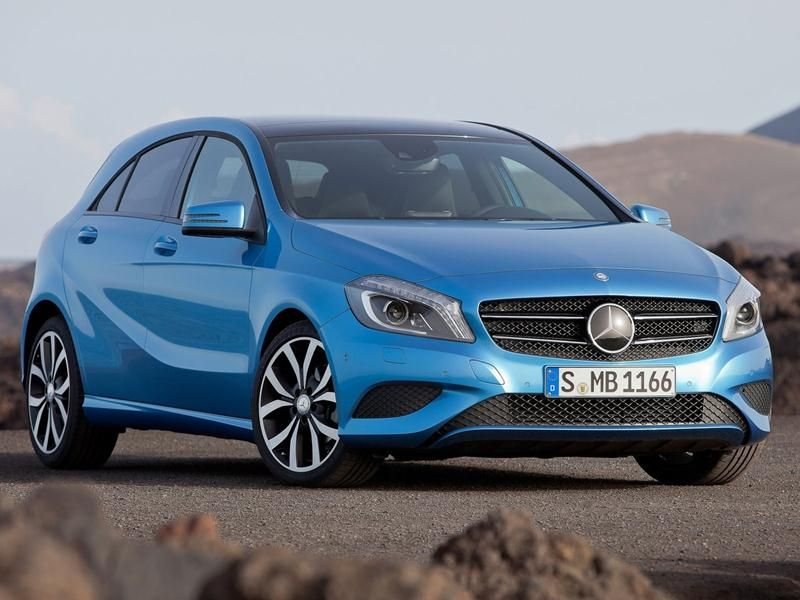2013 MercedesBenz AClass has appeared at the Geneva