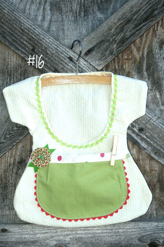Sweet One of a Kind Double Pocket Clothespin Bags by sunshineidaho ...