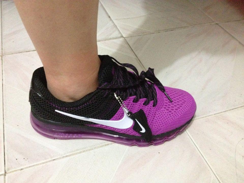 Got New Coming Nike Air Max 2017 KPU Purple Black Women Shoes