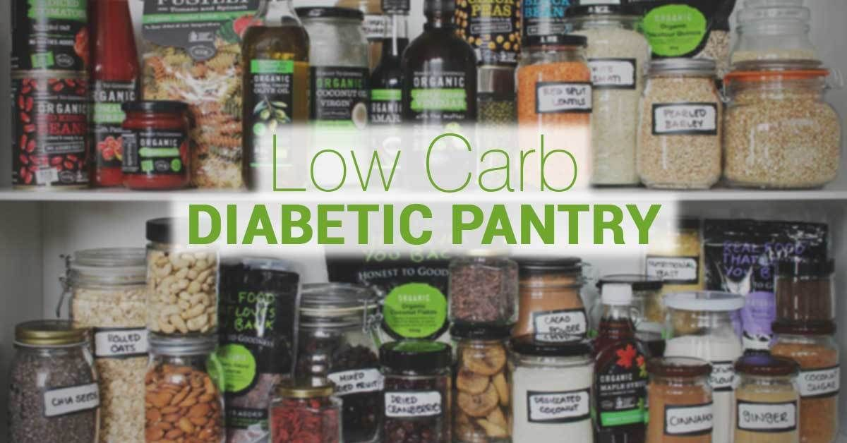 Keeping a sufficient stock of lowcarb and diabetes