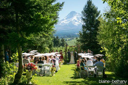 Portland Wedding Venues Mount Hood Organic Farm And Garden Ceremony Reception Venue River Or Mt