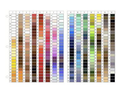 Gutermann Colour Chart