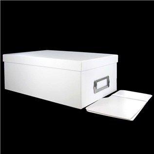 The Paper Studio 4 X 6 White Photo Storage Box Hobby Lobby
