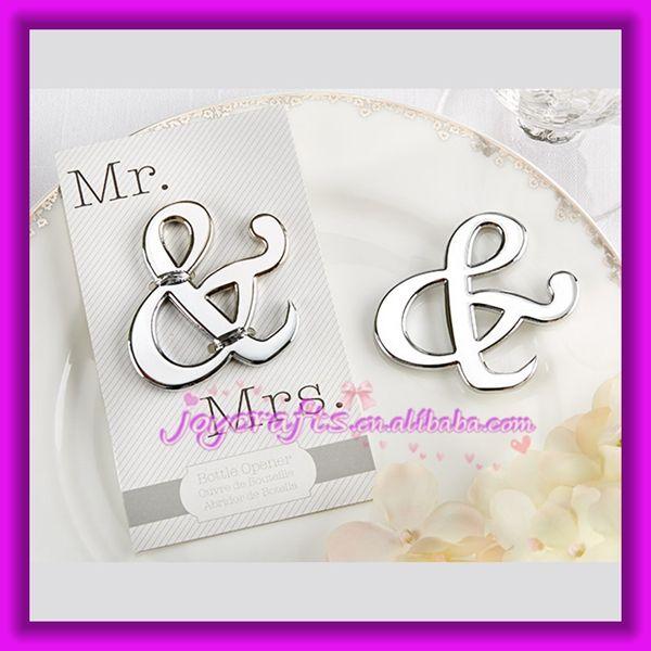 Mr And Mrs Ampersand Bottle Opener