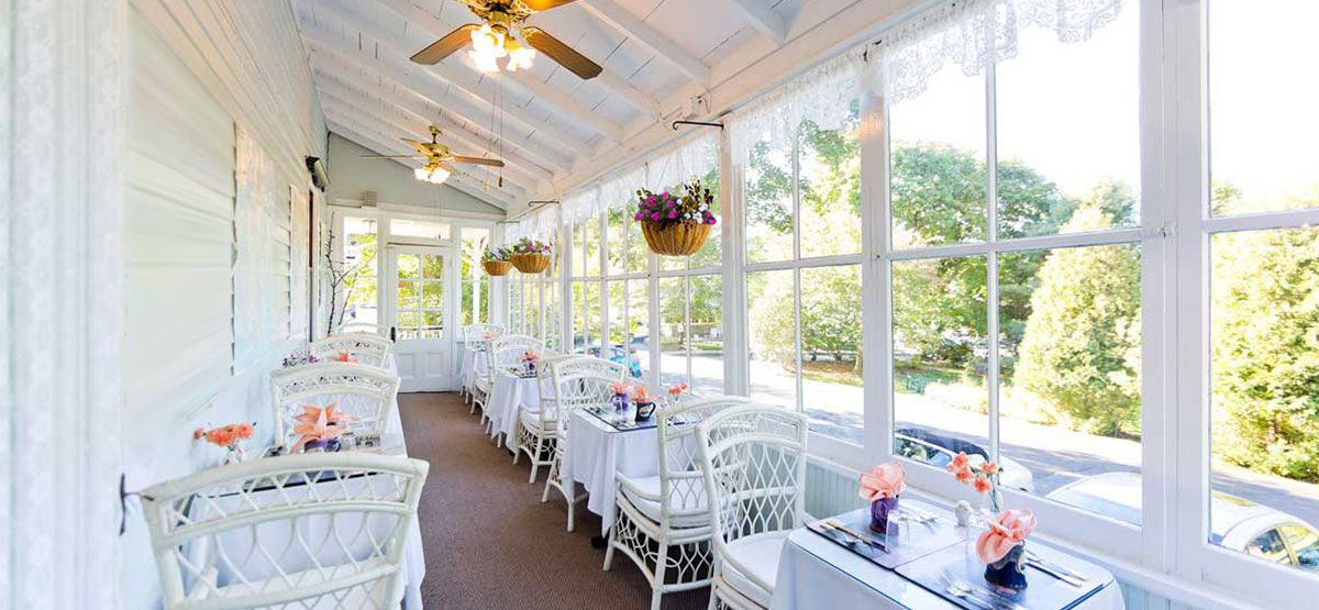 Located on a quiet side street, The Elmhurst Inn is an