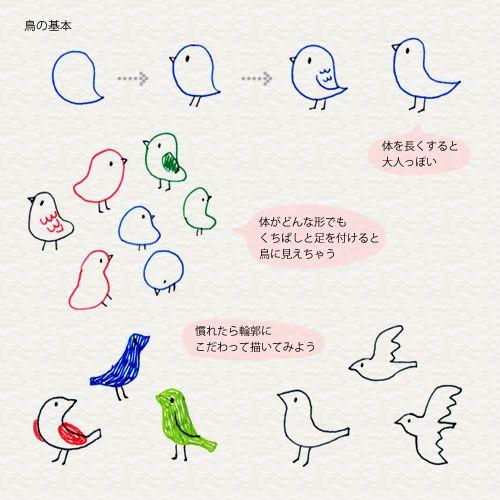 3 7 いろいろな動物を描こう 4色ボールペンで かわいいイラスト