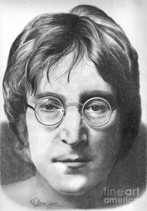 John Lennon by Karen Townsend