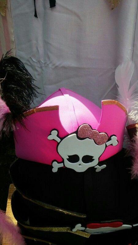 Amazonas calidad de marca venta caliente online Gorros piratas para disfrazarse! Hechos de goma eva o foami ...