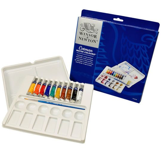 Watercolour Set Michael S Watercolor Pans Watercolour Painting