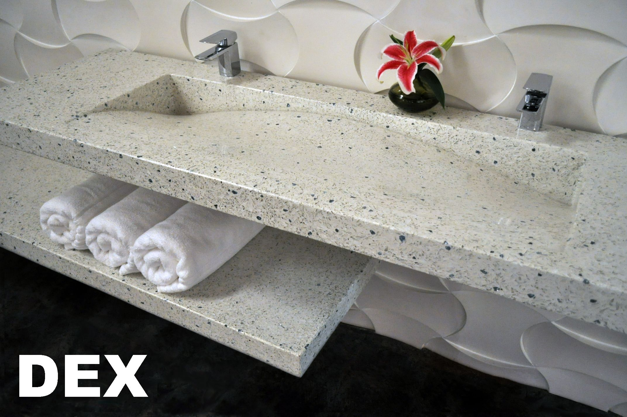 Slope Sink By Dex Made With Either Dexterra Sustainable Glass