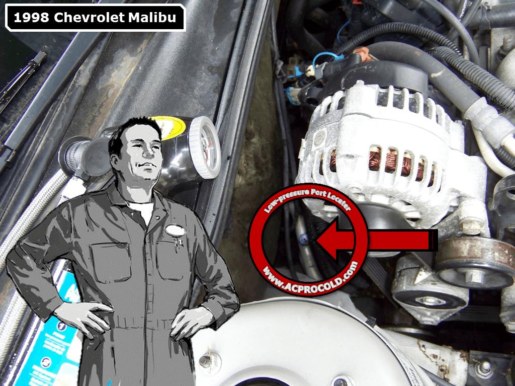 1998 Chevrolet Malibu Ac Pro Chevrolet Malibu Chevrolet Malibu
