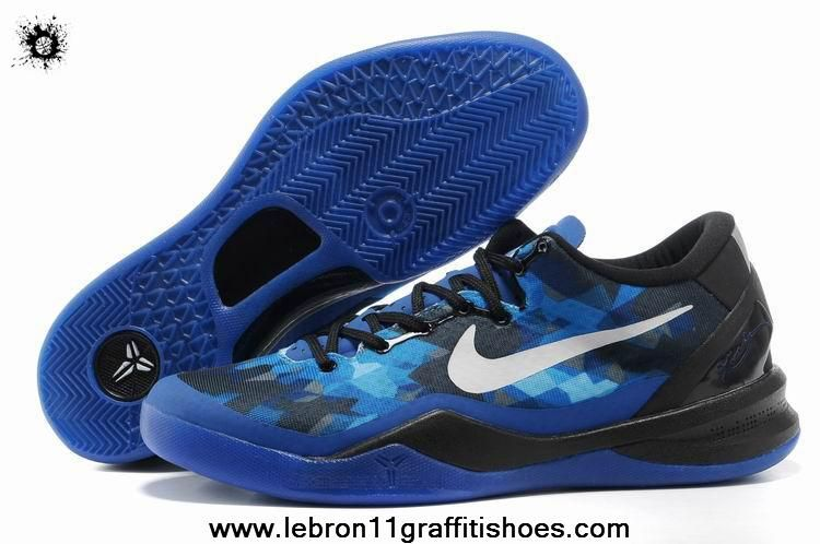 Authentic Nike Zoom Kobe VIII Basketball shoes royal blue black Style For  Sale