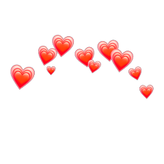 Heart Crown Heartcrown Heartred Emoji Coroa Coracao Wha Pink Wallpaper Iphone Overlays Picsart Sticker Art