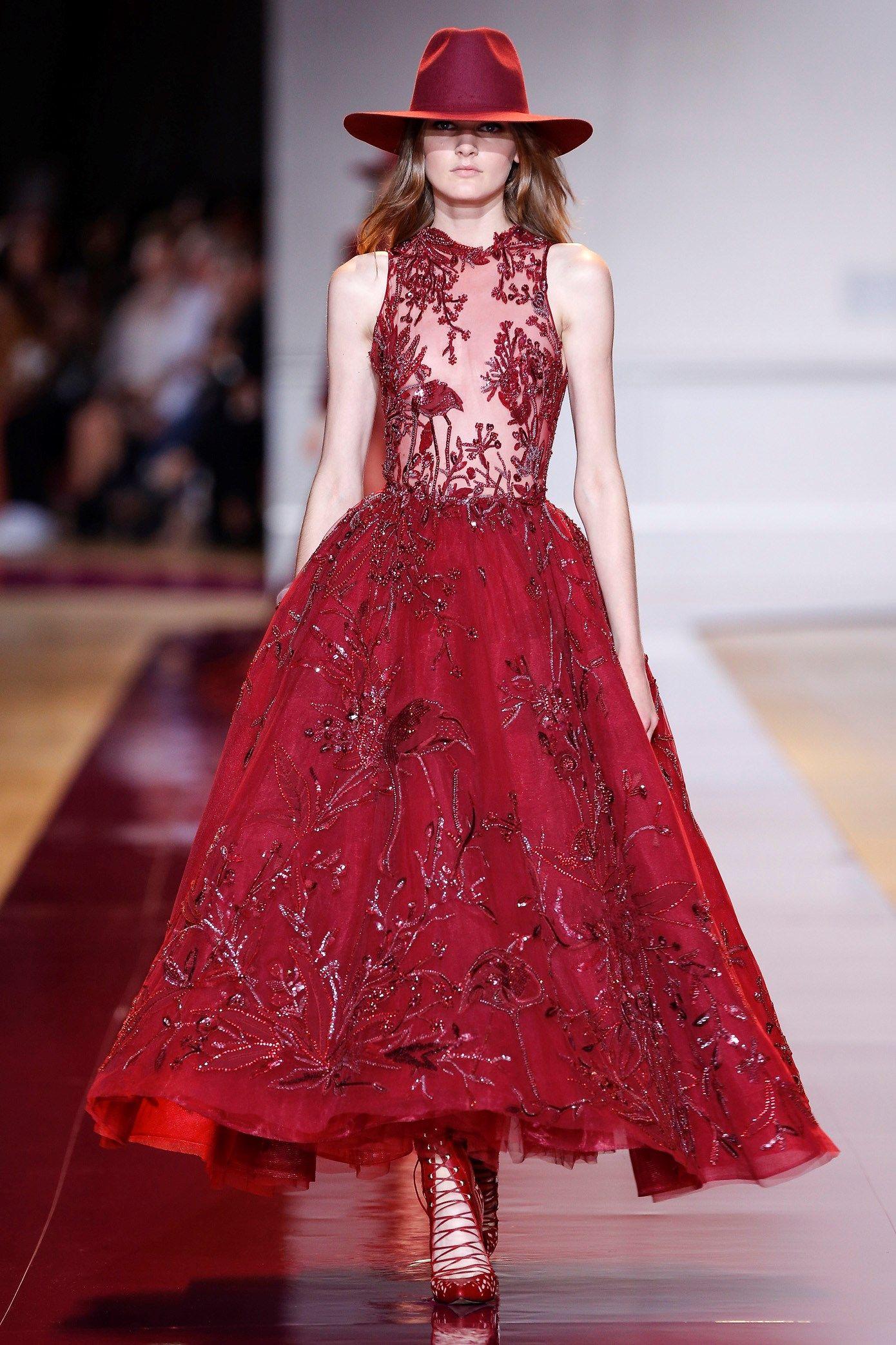 Zuhair murad couture fall evening gowns pinterest zuhair