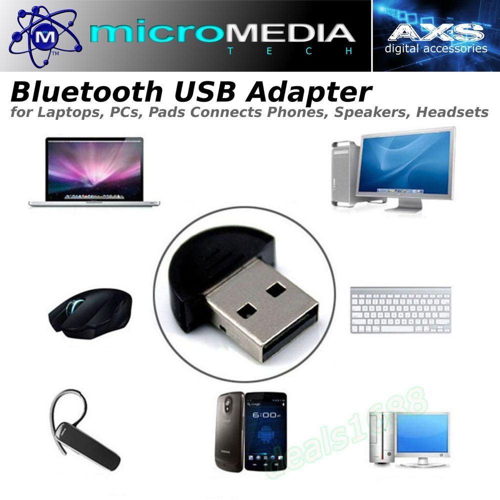 Details about 1PC Mini USB2 0 EDR Wireless Bluetooth Dongle Adapter
