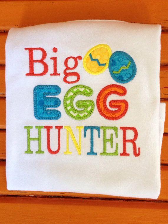 BiG EGG HUNTER. Easter egg hunter shirt for the by UpIslandlife
