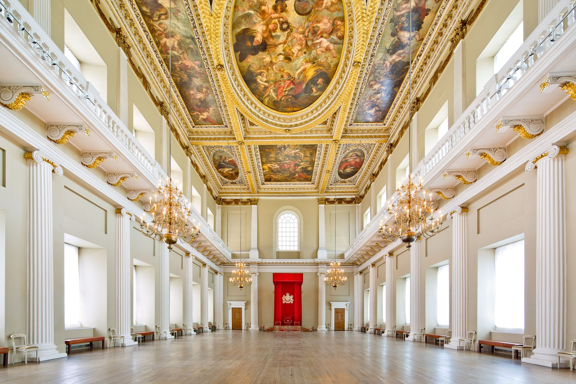 Delightful Whitehall Palace, Interior Banqueting House