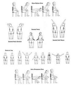 yoga poses for beginners drawing  google search  chair