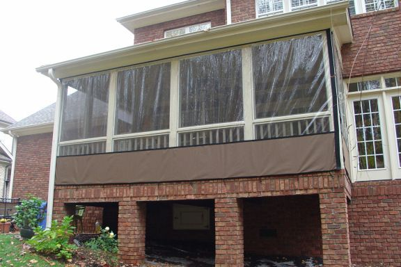 how to enclose your porch with clear vinyl - youtube, want to watch