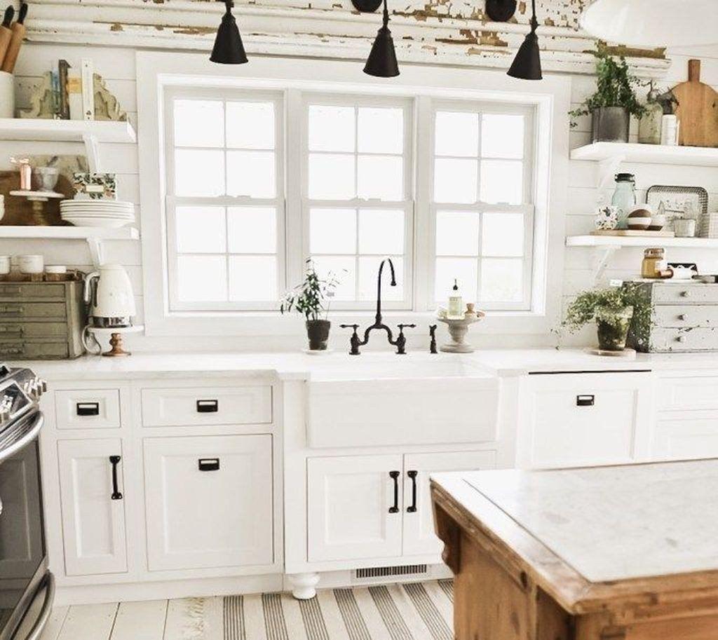 46 Stilvolle rustikale Küche im Landhausstil Ideen, die Sie unbedingt ausprobieren müssen