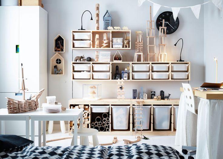 Rien De Tel Que Les Petits Rangement Ikea Trofast Kinderzimmer In
