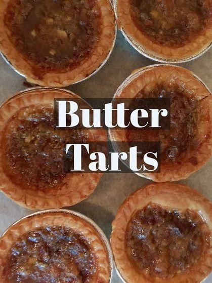 Recipe: Butter Tarts