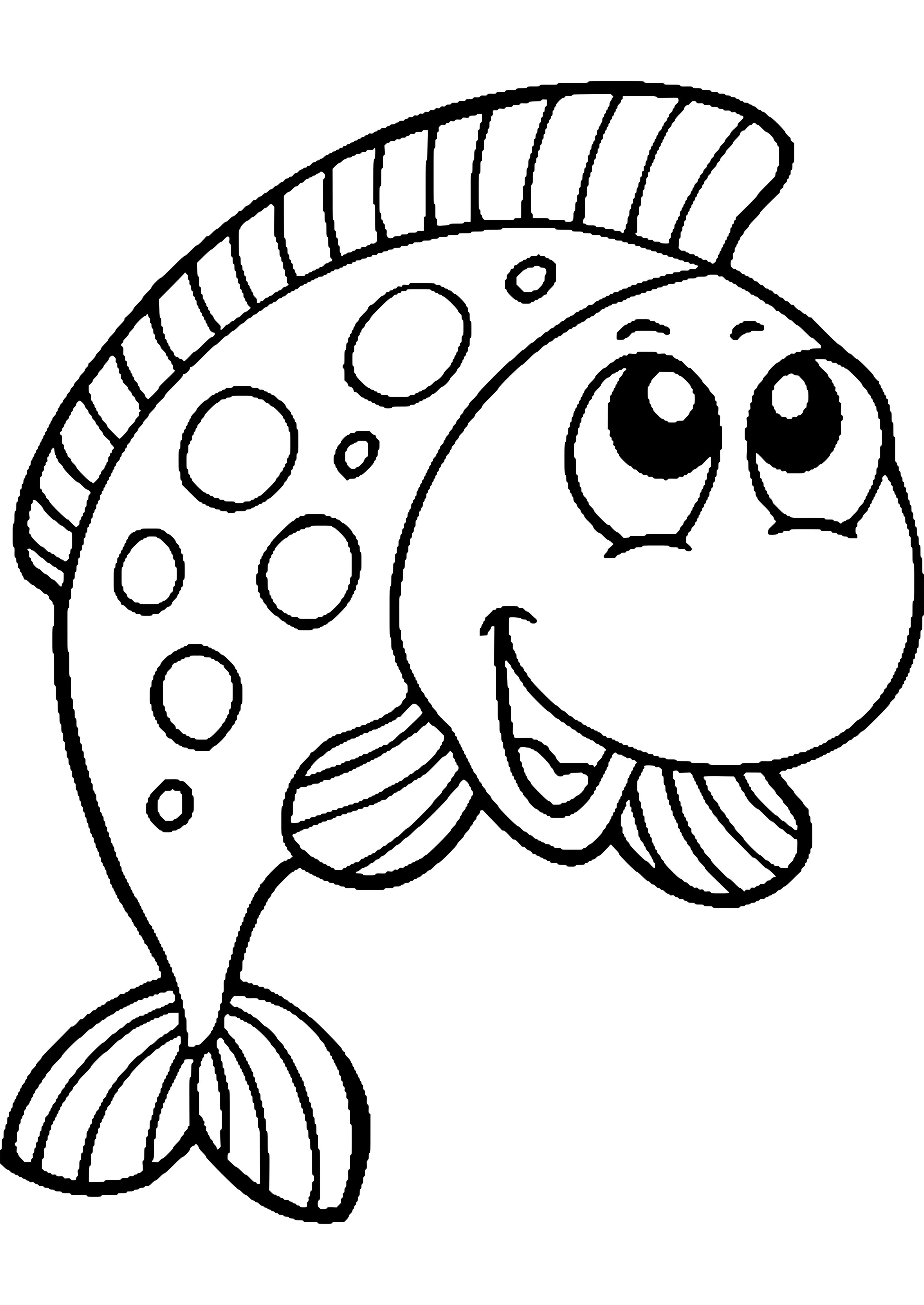 Malvorlagen Fische Gratis Zum Drucken Ausmalbild Fische ...