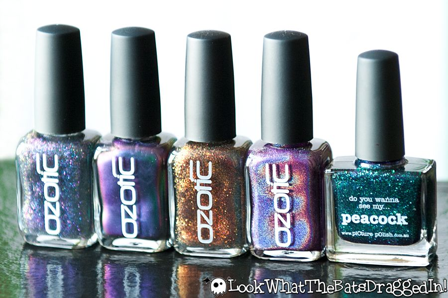 Look What the Bats Dragged In!: Nail Mail & Ozotic!