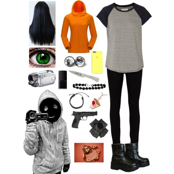 Creepypasta Daughter Of Hoodie By Ender1027 On Polyvore