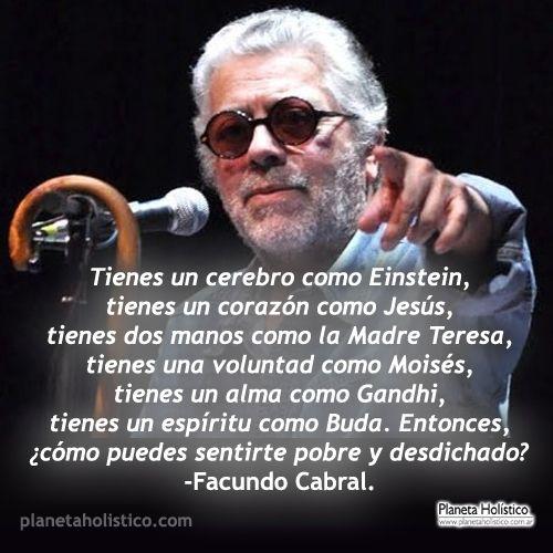 Frase De Facundo Cabral Frases Reflexion Facundo Cabral Y