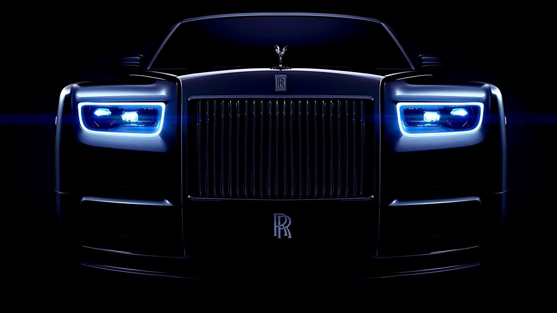 Blue Light Vehicle Dark Rolls Royce Luxury Car Rolls Royce Phantom 1080p Wallpaper Hdwallpaper Rolls Royce Rolls Royce Motor Cars Luxury Cars Rolls Royce