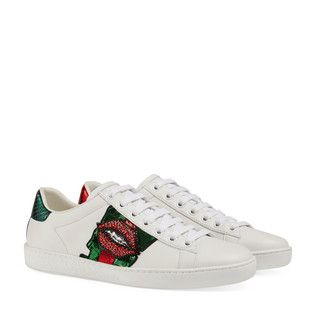 san francisco 2ae7d 010f0 Gucci Ace embroidered low-top sneaker - view 2