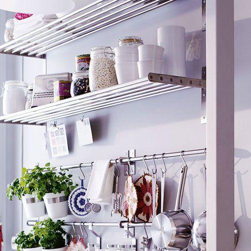 Kitchen Shelf Ikea: Amazon.com: Ikea Grundtal Stainless Steel Kitchen
