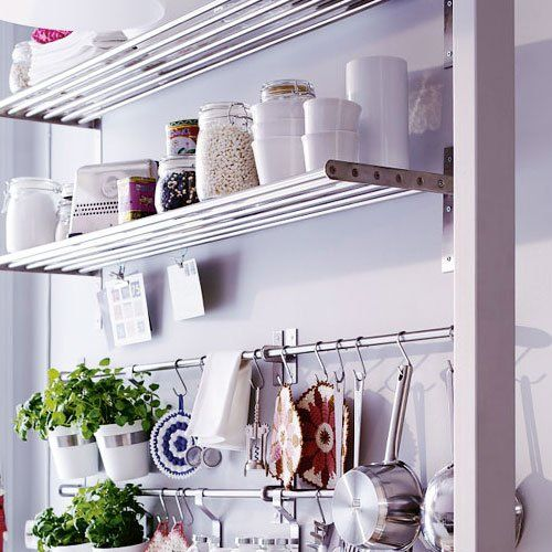 Kitchen Shelf Amazon: Amazon.com: Ikea Grundtal Stainless Steel Kitchen