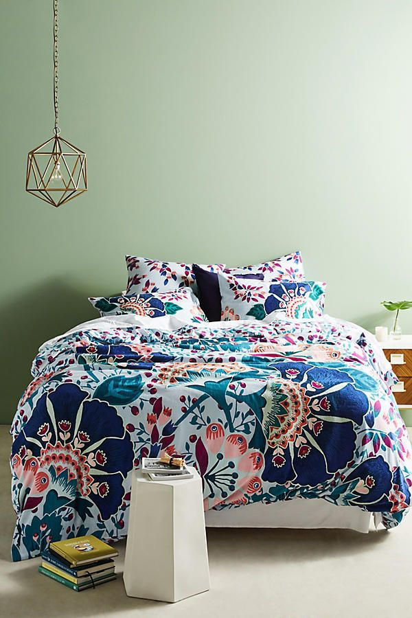 Anthropologie Full Duvet And 2 Shams Liberty London Feather Bloom Bedding Cover Anthropologie Bohoemianboh With Images Anthropologie Bedding Anthropologie Bedroom Duvet