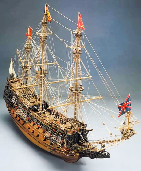 Mantua Models Sergal Sovereign Of The Seas 1 78 Scale Wooden