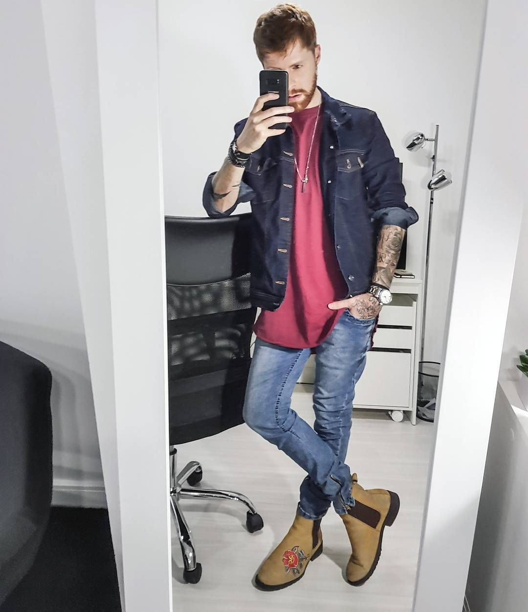 Resultado de imagem para moda masculina  chelsea boot